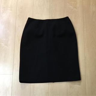 タイトスカート ブラック(ひざ丈スカート)