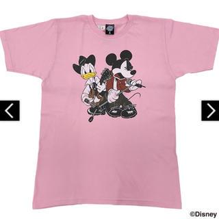ディズニー(Disney)の【新品未開封】B'z × Disney 親子TシャツB(ピンク) Sサイズ(ミュージシャン)