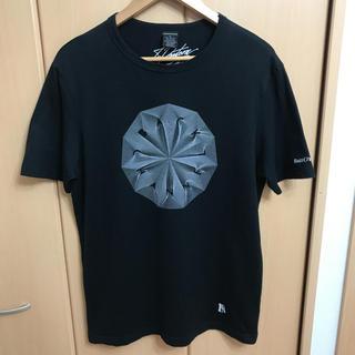 バックチャンネル(Back Channel)のBackChannel Tシャツ モードストリート デザイン BLACK 幾何学(Tシャツ/カットソー(半袖/袖なし))