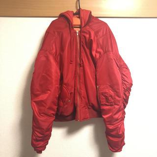 [中古]oversize reversiblebomberjacket ma1(フライトジャケット)