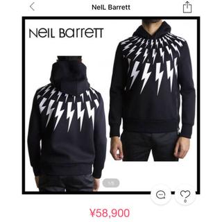 ニールバレット(NEIL BARRETT)のNeIL Barrett ニールバレット スウェット パーカー(パーカー)