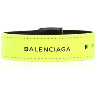 バレンシアガ(Balenciaga)のBALENCIAGA バングル イエロー(バングル/リストバンド)