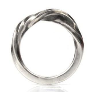 アンドゥムルメステール(Ann Demeulemeester)のアン・ドゥムルメステール シルバー リング twist ring(リング(指輪))