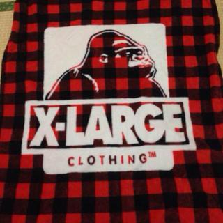 エクストララージ(XLARGE)のX-LARGEノベルティブランケット(その他)