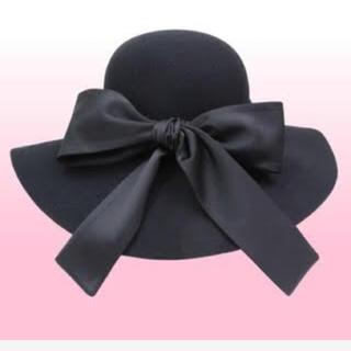 エミリアウィズ(EmiriaWiz)のエミリアウィズ  リボン 女優帽 ハット(ハット)