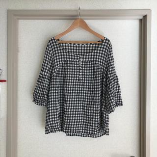 スティールエコンフォール(style+confort)のスティールエコンフォール ギンガムチェックシャツ(シャツ/ブラウス(半袖/袖なし))
