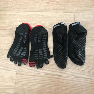 アディダス(adidas)のジャンプワン 滑り止め付き靴下1足(ソックス)