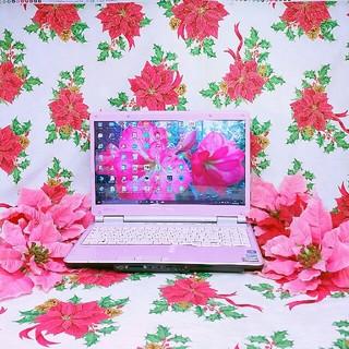 エヌイーシー(NEC)の極上品♥大人気ピンクLaVie♥Core-i3♥超大容量750G×メモリ4G(ノートPC)
