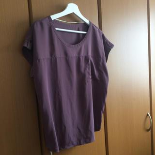 ジーユー(GU)のGU とろみブラウス(シャツ/ブラウス(半袖/袖なし))