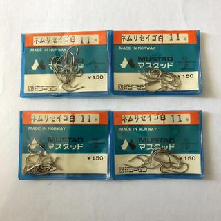 ゴーセン(GOSEN)のマスタッド製 ネムリセイゴ  11号 4袋セット(釣り糸/ライン)
