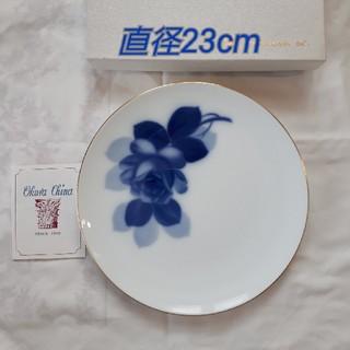 オオクラトウエン(大倉陶園)の新品 大倉陶園 ブルーローズ 23cmプレート(食器)