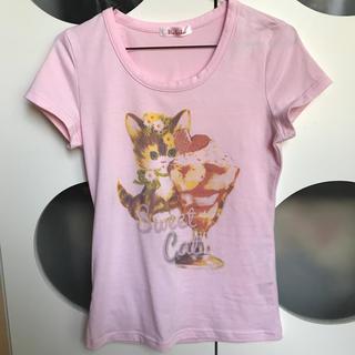 イリーデ(Ra Iride)のRa Iride Tシャツ 猫(Tシャツ(半袖/袖なし))