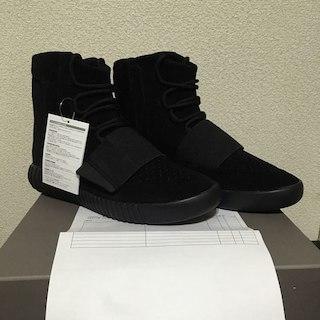 アディダス(adidas)の国内正規店購入 adidas yeezy boost 750 black(スニーカー)