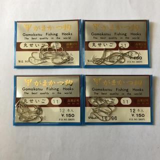 ガマカツ(がまかつ)のがまかつ製 丸せいご 11号 4袋セット(釣り糸/ライン)