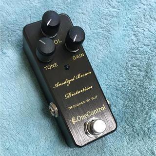 One Control Anodized Brown Distorton(エフェクター)