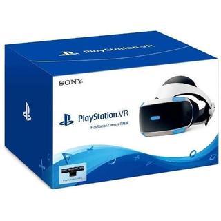 プレイステーションヴィーアール(PlayStation VR)の新品 新型 PSVR カメラ同梱版 CUHJ–16003(家庭用ゲーム機本体)