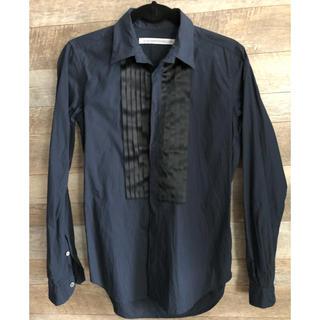 ジョンローレンスサリバン(JOHN LAWRENCE SULLIVAN)のジョンローレンスサリバン フリル切り替えシャツ(シャツ)
