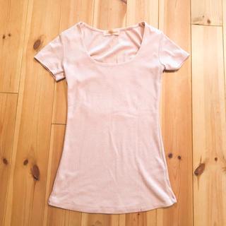マジェンダ(Magender)のピンク無地Tシャツ(Tシャツ(半袖/袖なし))