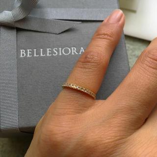 値下げ!ベルシオラ  BELLESIORA ピンキーリング K18 YG 1号(リング(指輪))