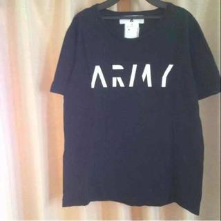 アンリアレイジ(ANREALAGE)のアンリアレイジ ARMY プリントTシャツ(Tシャツ/カットソー(半袖/袖なし))