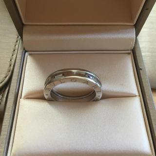 ブルガリ(BVLGARI)の新品BVLGARIホワイトゴールド指輪(リング(指輪))