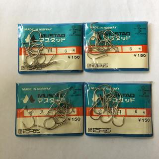 ゴーセン(GOSEN)のマスタッド製 チヌ 白 6号 4袋セット(釣り糸/ライン)