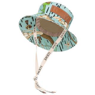 ロエベ(LOEWE)のLOEWE Paula Mermaid Fisherman Hat ハット (ハット)