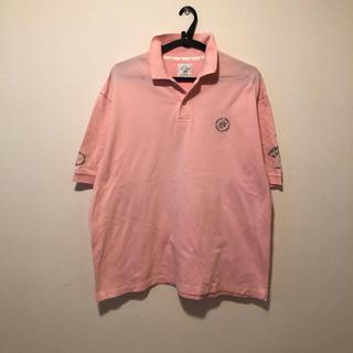 ゾーイ(ZOY)のゾーイ メンズ ポロシャツ ピンク(ポロシャツ)