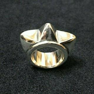 ヒステリックグラマー(HYSTERIC GLAMOUR)のグラマーパンクス 特大スタッズリング 15号 シルバー925(リング(指輪))