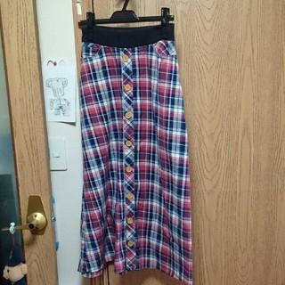 クリフメイヤー(KRIFF MAYER)のKRIFF MAYER チェック スカート ★ ロングスカート(ロングスカート)