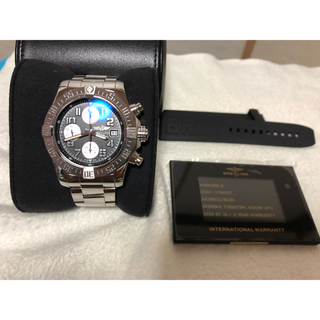 ブライトリング(BREITLING)のアベンジャー2 クロノグラフ 美品(腕時計(アナログ))