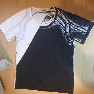 アンリアレイジ(ANREALAGE)の交渉可 ANREALAGE Tシャツ カットソー  美品(Tシャツ/カットソー(半袖/袖なし))