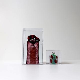イッタラ(iittala)のOiva Toikka 特大キューブ Cube イッタラ バード(置物)