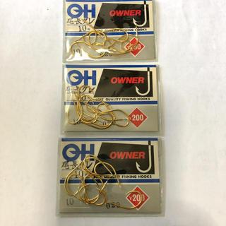 オーナー製 尾長グレ 10号 3袋セット(釣り糸/ライン)