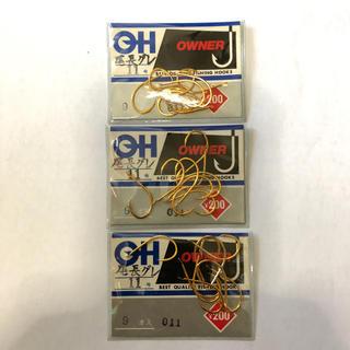 オーナー製 尾長グレ 11号 3袋セット(釣り糸/ライン)