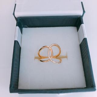 ジュエリーツツミ(JEWELRY TSUTSUMI)のツツミ ダイヤ リング(リング(指輪))