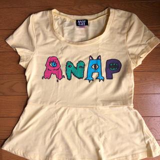 アナップキッズ(ANAP Kids)のセール☆アナップ Tシャツ S(140〜150)(Tシャツ/カットソー)