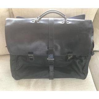 プラダ(PRADA)のプラダ PRADA ビジネス トラベル バッグ ナイロン×レザー(ビジネスバッグ)