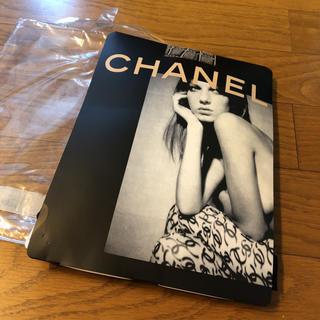 シャネル(CHANEL)のシャネル CHANEL タイツ ココマーク チェック 柄(タイツ/ストッキング)