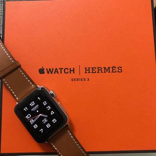 アップルウォッチ(Apple Watch)のテン様専用☆Apple Watch / HERMES / series3(腕時計(デジタル))
