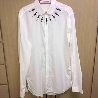 ニールバレット(NEIL BARRETT)の国内正規 Neil Barrett ニールバレット BOLT ドレスシャツ(シャツ)