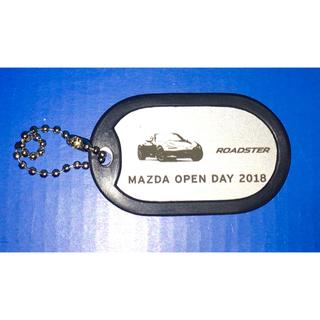 マツダ(マツダ)のキーホルダー ロードスター MAZDA マツダ(車外アクセサリ)