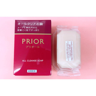 プリオール(PRIOR)のプリオール石鹸 マキアージュルージュ(洗顔料)