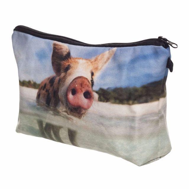 ぶたポーチ 豚コスメポーチ ブタさんの小物入れ 新品未使用品 送料無料♪ レディースのファッション小物(ポーチ)の商品写真
