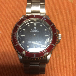 サブサエティ(Subciety)のサブサエティ腕時計ジャンク品(腕時計(アナログ))