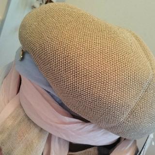フルラ(Furla)のFURLA ベレー帽  【新品未使用】タグ付き makitan 様専用(ハンチング/ベレー帽)