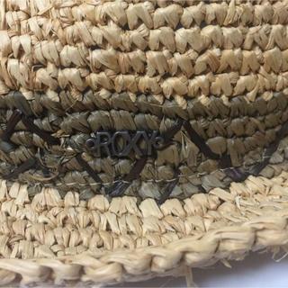 ロキシー(Roxy)の【ハワイ購入】ROXY 麦わら帽子 ハット(麦わら帽子/ストローハット)