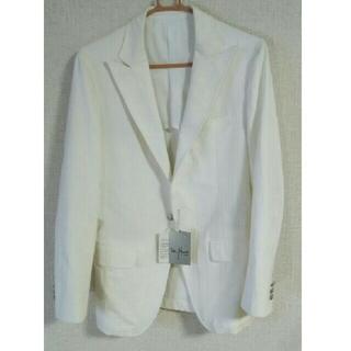 TETE HOMME -  メンズ ジャケット わけあり ホワイト タグ付き テットオム