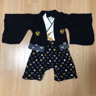 ディズニー(Disney)のDisneyの袴ロンパース 80 ミッキー お正月 節句(和服/着物)