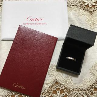 カルティエ(Cartier)のカルティエ ラニエール リング 指輪 k18 WG cartier 8号(リング(指輪))